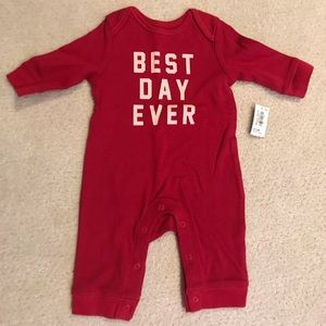 🎀NWT old navy red romper